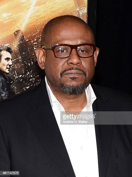 Actor Forest Whitaker attends the Taken 3 Fan Event Screening at AMC Empire 25 theater on January 7 2015 in New York City