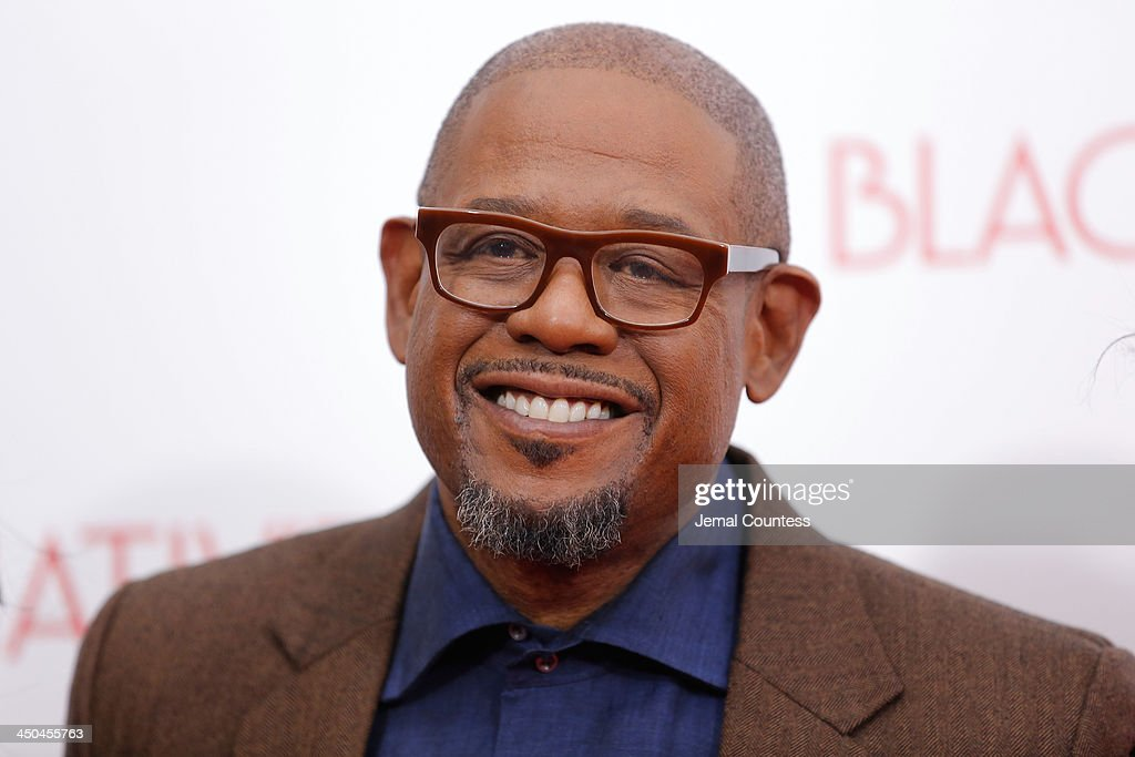 Actor Forest Whitaker attends the'Black Nativity' premiere at The Apollo Theater on November 18, 2013 in New York City.
