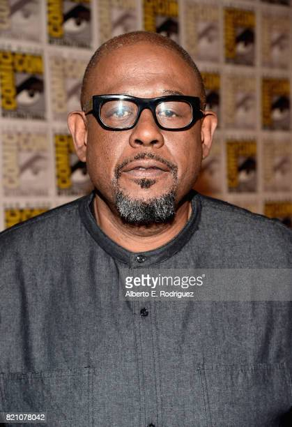 Actor Forest Whitaker from Marvel Studios' 'Black Panther' at the San Diego ComicCon International 2017 Marvel Studios Panel in Hall H on July 22...