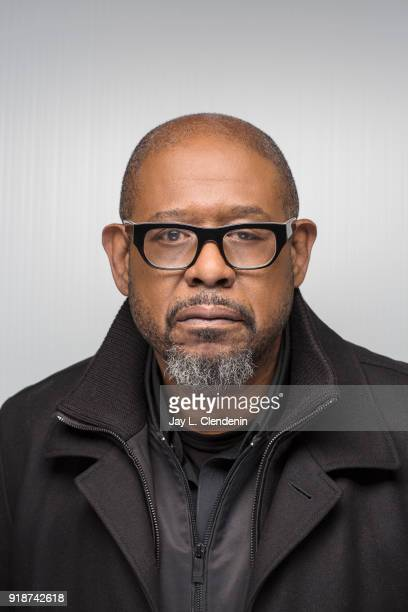 Actor Forest Whitaker from the film 'Burden' is photographed for Los Angeles Times on January 21 2018 in the LA Times Studio at Chase Sapphire on...