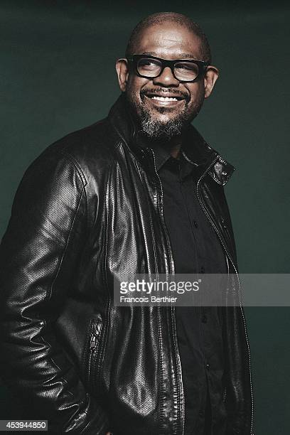 Actor Forest Whitaker is photographed for Self Assignment on April 8 2014 in Paris France
