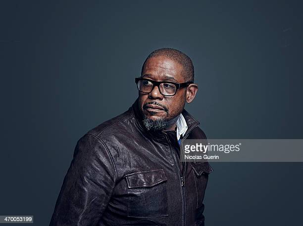 Actor Forest Whitaker is photographed for Self Assignment on February 9 2014 in Berlin Germany