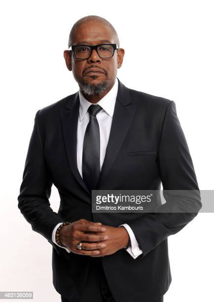 Actor Forest Whitaker poses for a portrait during the 19th Annual Critics' Choice Movie Awards at Barker Hangar on January 16 2014 in Santa Monica...