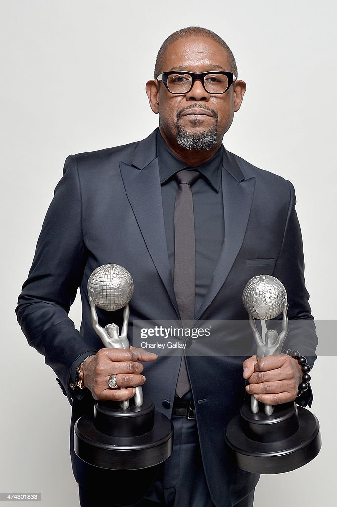 Actor Forest Whitaker, winner of the Outstanding Actor in a Motion Picture award for 'Lee Daniels' The Butler' and the NAACP Chairman's Award, poses for a portrait during the 45th NAACP Image Awards presented by TV One at Pasadena Civic Auditorium on February 22, 2014 in Pasadena, California.