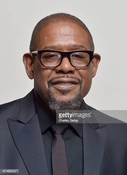 Actor Forest Whitaker winner of the Outstanding Actor in a Motion Picture award for 'Lee Daniels' The Butler' and the NAACP Chairman's Award poses...