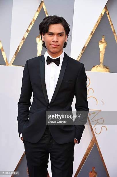Actor Forrest Goodluck attends the 88th Annual Academy Awards at Hollywood Highland Center on February 28 2016 in Hollywood California