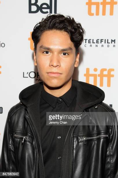 """Actor Forrest Goodluck attends the """"Indian Horse"""" premiere during the 2017 Toronto International Film Festival at TIFF Bell Lightbox on September 15,..."""