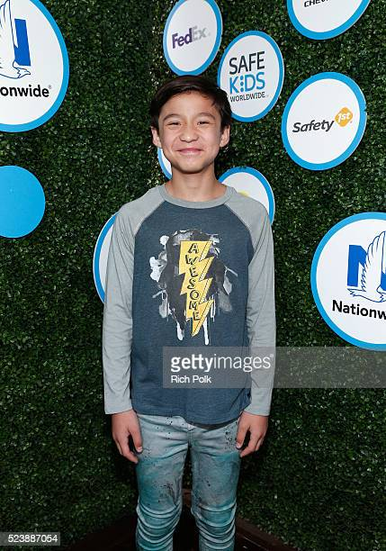 Actor Forrest Wheeler attends Safe Kids Day 2016 presented by Nationwide at Smashbox Studios on April 24 2016 in Los Angeles California
