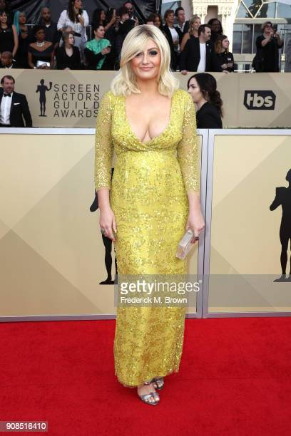 Actor Francesca Curran attends the 24th Annual Screen Actors Guild Awards at The Shrine Auditorium on January 21 2018 in Los Angeles California...