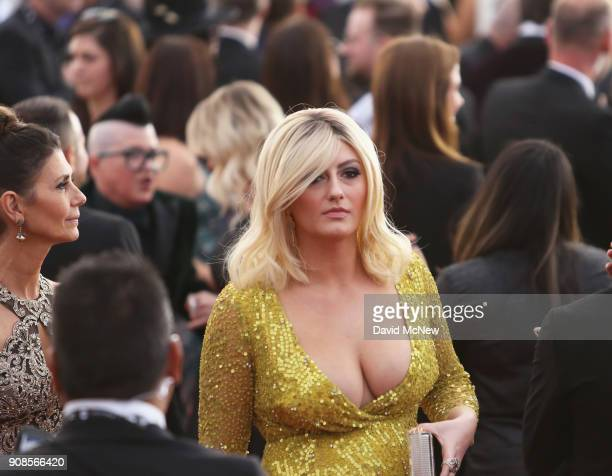 Actor Francesca Curran attends the 24th Annual Screen ActorsGuild Awards at The Shrine Auditorium on January 21 2018 in Los Angeles California
