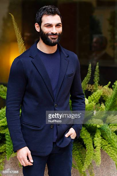 actor Francesco Arca attends Fasten your Seatbelts photocall in Rome Visconti Palace