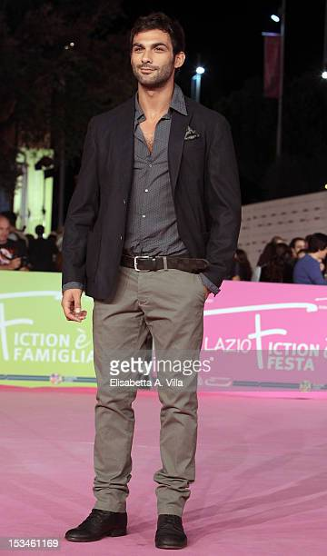 Actor Francesco Arca attends the 2012 RomaFictionFest Closing Cerimony at Auditorium Parco della Musica on October 5 2012 in Rome Italy