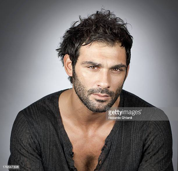 Actor Francesco Arca is photographed for Self Assignment on October 13 2012 in Rome Italy