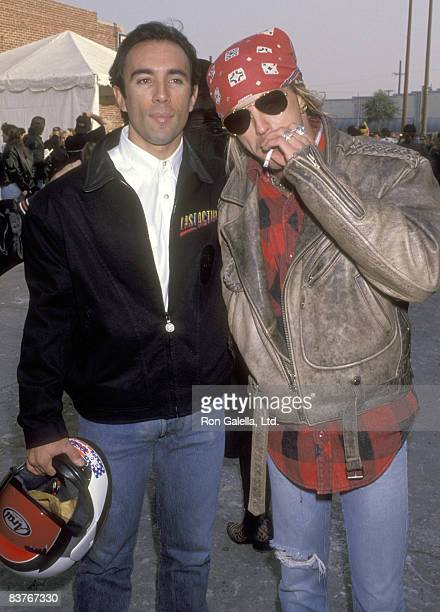 Actor Francesco Quinn and Musician Brett Michaels attend the Love Ride 10 10th Annual Motocycle Rider's Fundraiser for the Muscular Dystrophy...