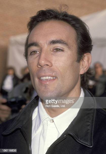 Actor Francesco Quinn attends the Love Ride 10 10th Annual Motocycle Rider's Fundraiser for the Muscular Dystrophy Association on November 7 1993 at...