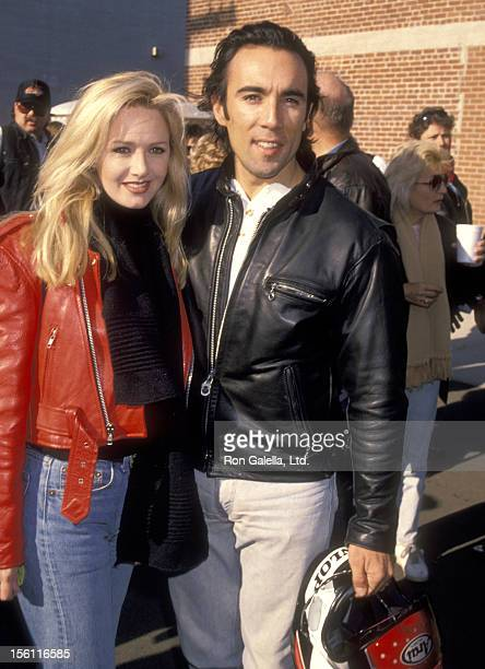 Actor Francesco Quinn attends the Love Ride 11 11th Annual Motocycle Rider's Fundraiser for the Muscular Dystrophy Association on November 13 1994 at...