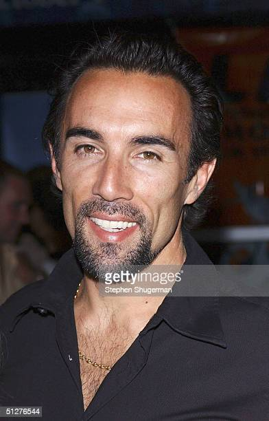 Actor Francesco Quinn attends the premiere of VLAD at the Arclight Theater on September 8 2004 in Hollywood California