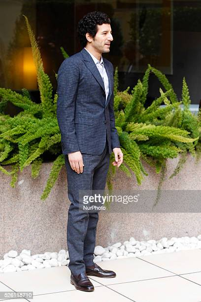 actor Francesco Scianna attends Fasten your Seatbelts photocall in Rome Visconti Palace