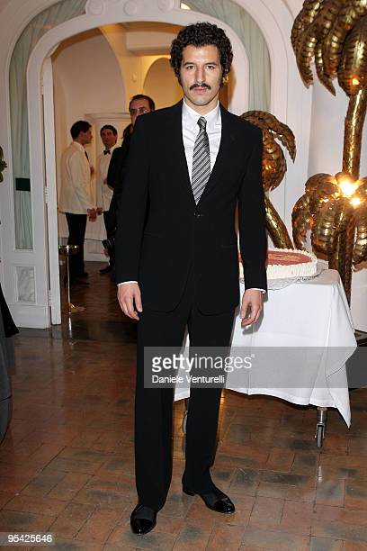 Actor Francesco Scianna attends the first day of the 14th Annual Capri Hollywood International Film Festival on December 27 2009 in Capri Italy