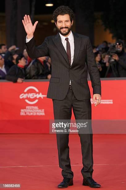 Actor Francesco Scianna attends the 'Giuseppe Tornatore Ogni Film Un'Opera Prima' Premiere during the 7th Rome Film Festival at Auditorium Parco...