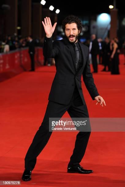 Actor Francesco Scianna attends the L' Industriale Premiere during the 6th International Rome Film Festival at Auditorium Parco Della Musica on...