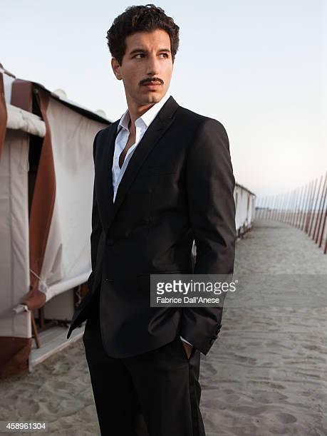 Actor Francesco Scianna is photographed for Vanity Fair Italy on September 1 2013 in Venice Italy
