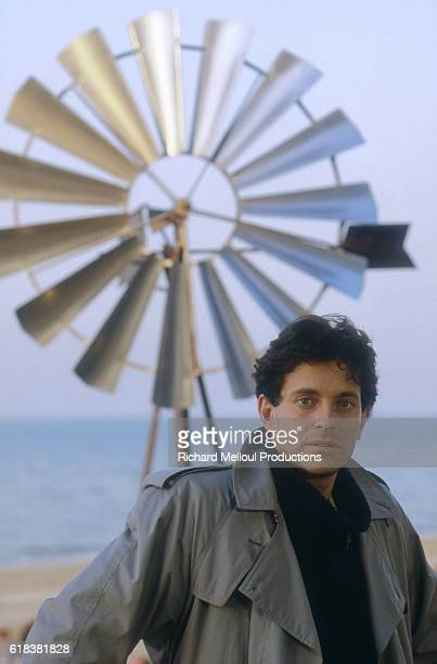 Actor Francis Huster appears in the 1982 French film Qu'estce Qui Fait Courir David The film written and directed by Elie Chouraqui was released in...