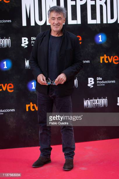 Actor Francis Lorenzo attends the 'La Caza Monteperdido' photocall on March 22 2019 in Madrid Spain