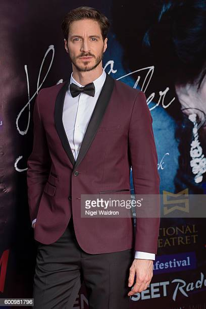 Actor Francisco Ortiz attends the Norwegian premiere of Hedda Gabler held at the Vika Cinema on September 08 2016 in Oslo Norway