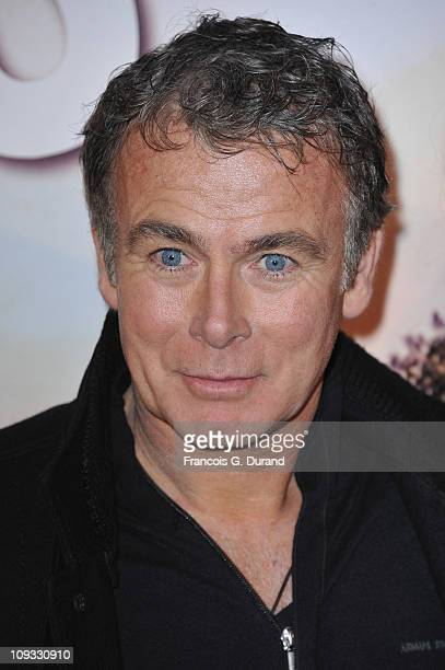 Actor Franck Dubosc attends 'Le Marquis' Paris premiere on February 21 2011 in Paris France