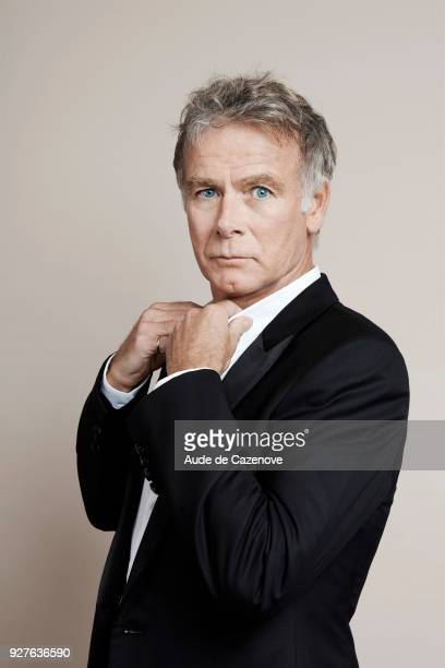Actor Franck Dubosc is photographed for Self Assignment on September 2017 in Paris France