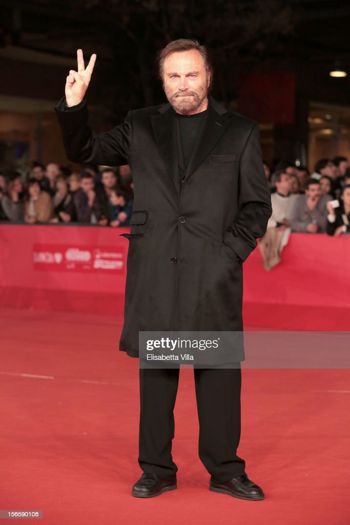 Actor Franco Nero attends the Closing Ceremony during the 7th Rome Film Festival at Auditorium Parco Della Musica on November 17, 2012 in Rome, Italy.