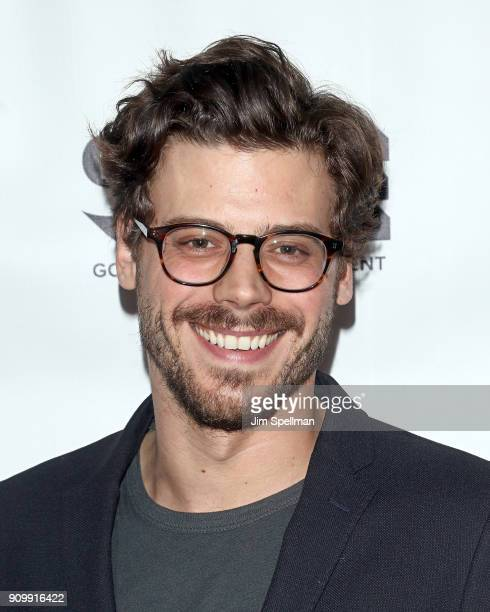 Actor Francois Arnaud attends the 'Permission' New York screening at Symphony Space on January 24 2018 in New York City