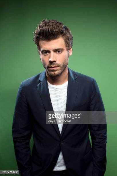 Actor Francois Arnaud from the television series 'Midnight Texas' is photographed in the LA Times photo studio at ComicCon 2017 in San Diego CA on...