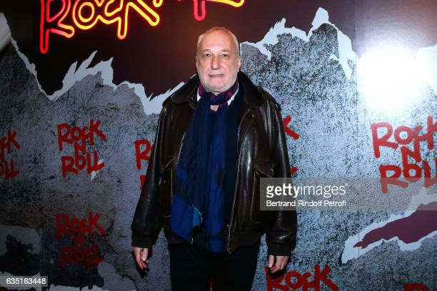 Actor Francois Berleand attends the Rock'N Roll Premiere at Cinema Pathe Beaugrenelle on February 13 2017 in Paris France