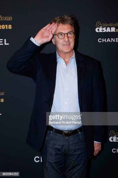 Actor Francois Cluzet attends the 'Cesar Revelations 2018' Party at Le Petit Palais on January 15 2018 in Paris France