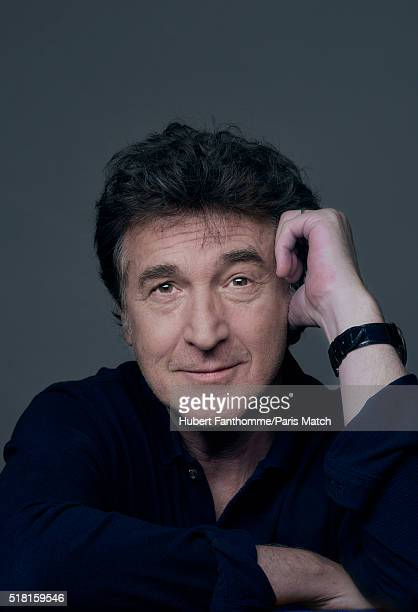 Actor Francois Cluzet is photographed for Paris Match on March 9 2016 in Paris France