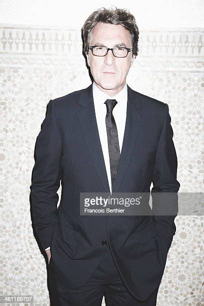 Actor FRANCOIS CLUZET is photographed for Self Assignment during the 13th Marrakech Film Festival on December 2 2013 in Marrakech Morocco