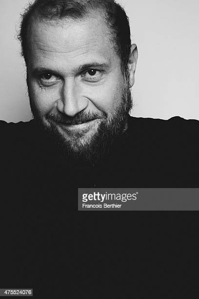Actor Francois Damiens is photographed on May 18 2015 in Cannes France