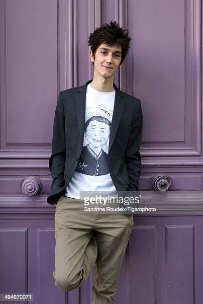 110030002 Actor Francois Deblock is photographed for Madame Figaro on May 14 2014 in Paris France PUBLISHED IMAGE CREDIT MUST READ Sandrine...
