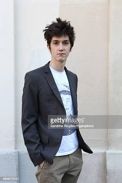 110030006 Actor Francois Deblock is photographed for Madame Figaro on May 14 2014 in Paris France CREDIT MUST READ Sandrine...