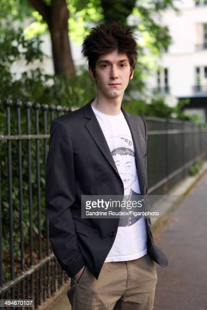 110030007 Actor Francois Deblock is photographed for Madame Figaro on May 14 2014 in Paris France CREDIT MUST READ Sandrine...