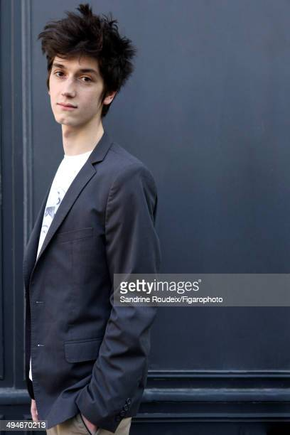 110030013 Actor Francois Deblock is photographed for Madame Figaro on May 14 2014 in Paris France CREDIT MUST READ Sandrine...