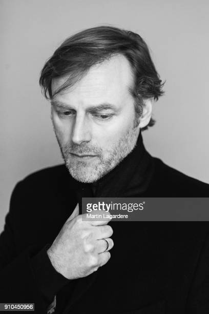 Actor Francois Feroleto is photographed for Self Assignment on December 2017 in Paris France