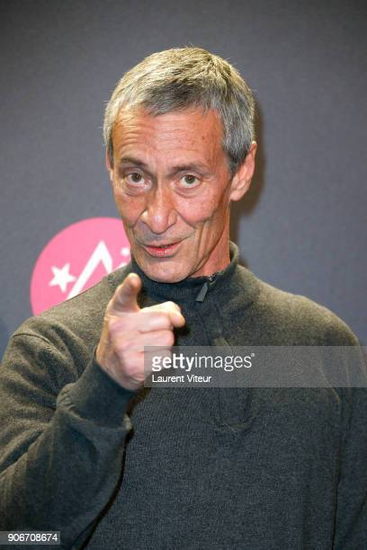 Actor Francois Levantal attends the 21st Alpe D'Huez Comedy Film Festival on January 18 2018 in Alpe d'Huez France