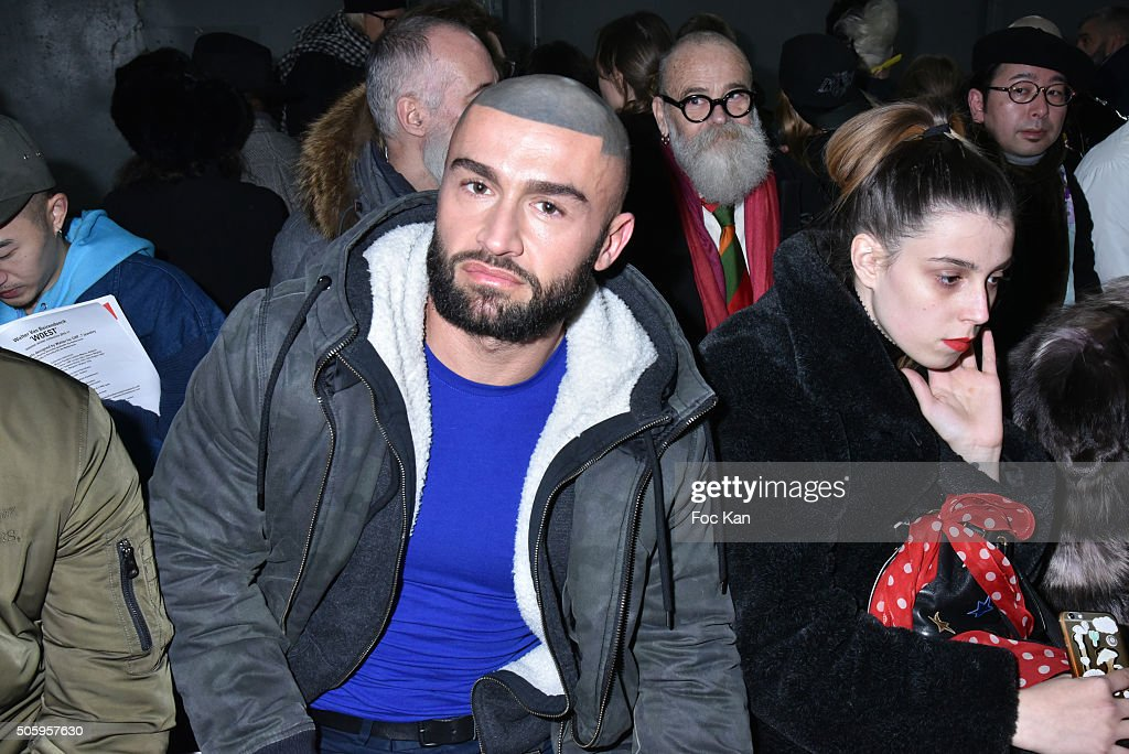 Actor Francois Sagat Attends The Walter Van Beirendonck Menswear Fall Winter 2016 2017 Show