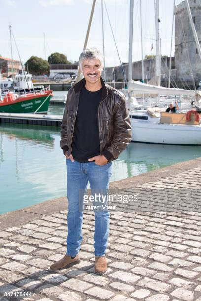 Actor Francois Vincentelli attends J ai 2 Amours Photocall during the 19th Festival of TV Fiction at La Rochelle on September 15 2017 in La Rochelle...