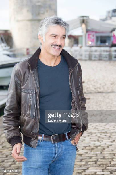 Actor Francois Vincentelli attends Marjorie il etait une Fois Photocall during the 19th Festival of TV Fiction at La Rochelle on September 16 2017 in...