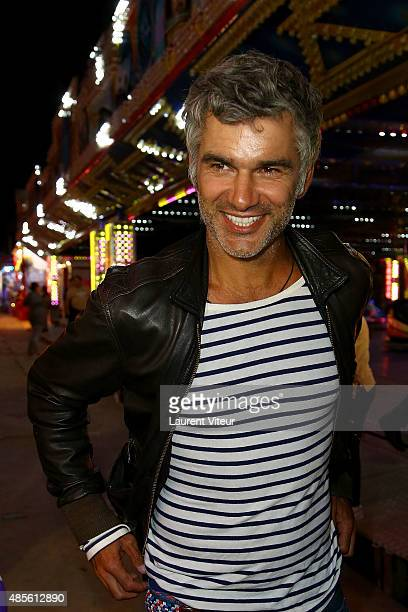 Actor Francois Vincentelli attends The 'Fete A Neu Neu' Opening Night To Benefit Laurette Fugain Association At Bois de Boulogne on August 28 2015 in...