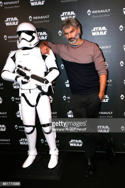 Actor Francois Vincentelli attends the Star Wars x Renault Party at Atelier Renault on December 13 2017 in Paris France